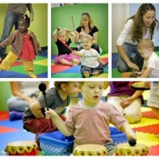 Ladybug Music Class for babies, toddlers & preschoolers
